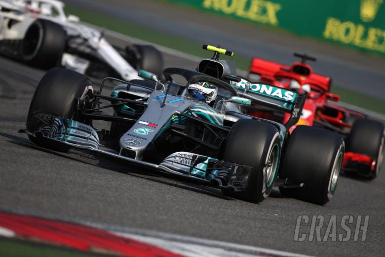 F1: Mercedes losing five-tenths to Ferrari on straights