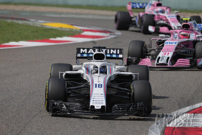 "F1: Williams ""in the race again"" in Chinese GP"