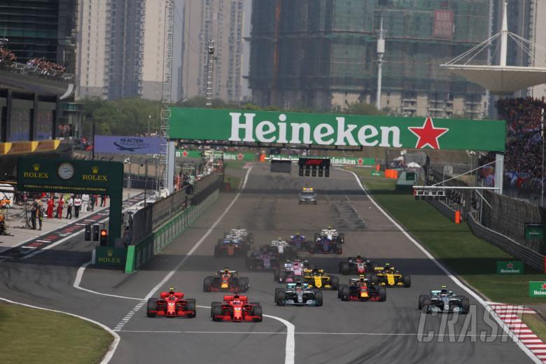 F1 GP Cina - Peringkat Pembalap