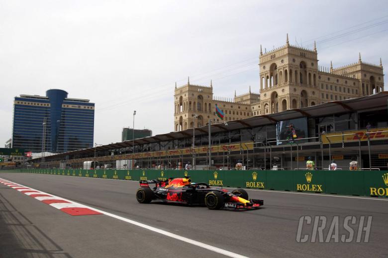 F1: Azerbaijan Grand Prix - Free practice 2 results