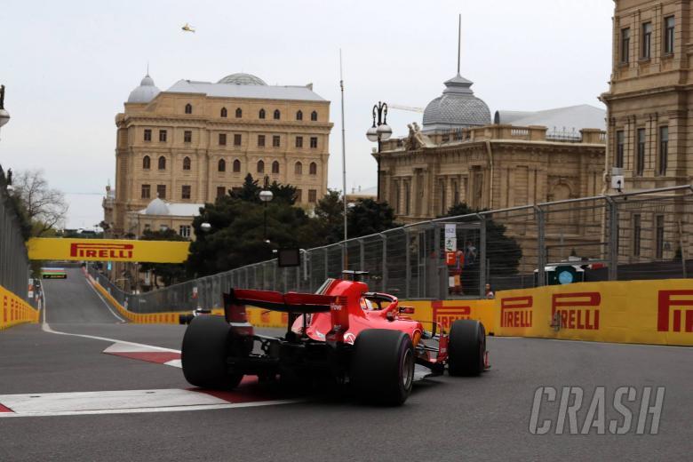 F1: Azerbaijan Grand Prix - Qualifying results