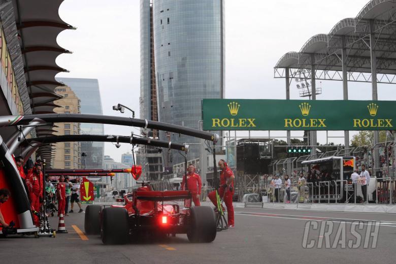 F1: F1 Azerbaijan GP - Starting Grid