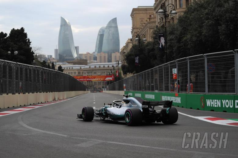 F1: Azerbaijan Grand Prix - Race results