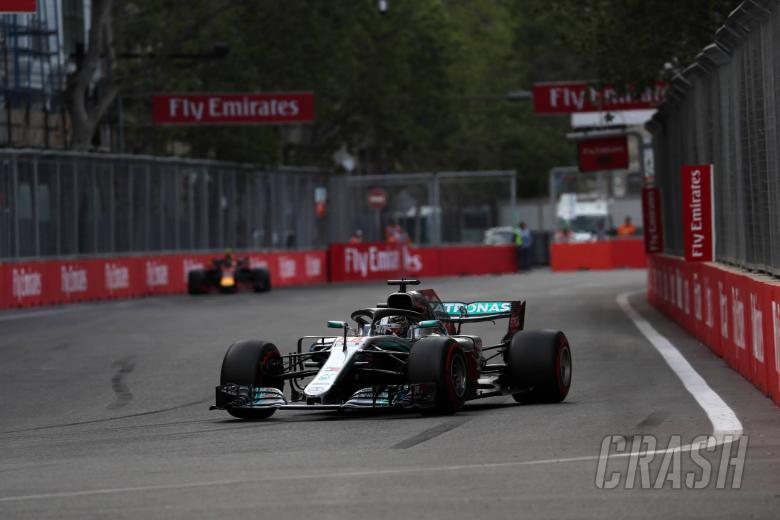 F1: Late drama hands Hamilton Azerbaijan F1 victory