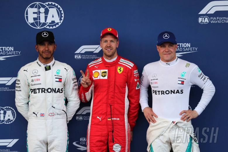 Hamilton: Mercedes in the mix, Ferrari number one to beat
