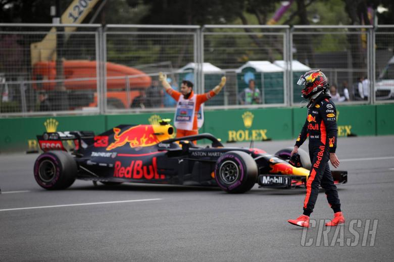 F1: Verstappen refuses to blame 'fair' Ricciardo for Baku collision