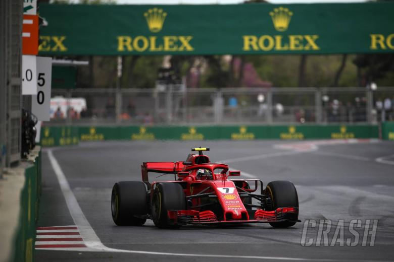 "F1: Raikkonen ""lucky"" to finish after ""too many close calls"" in Baku"