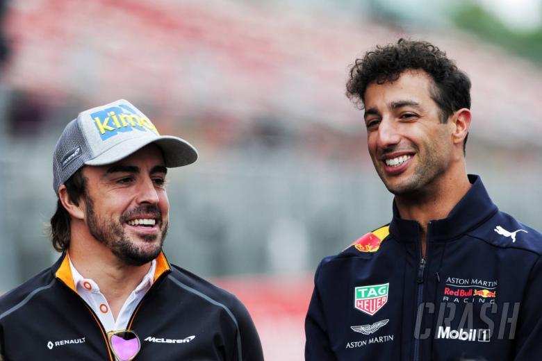 Red Bull membantah tim klaim Alonso mencoba merekrutnya untuk 2019