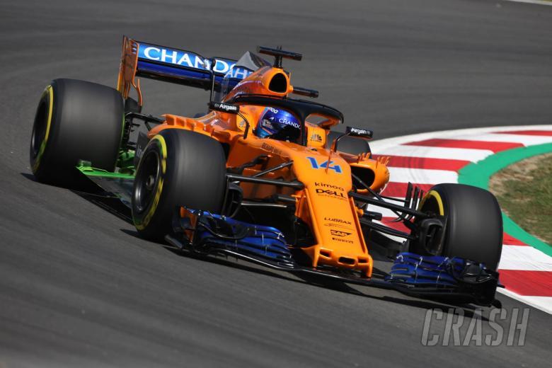 F1: McLaren Barcelona upgrade a 'step forward' - Alonso