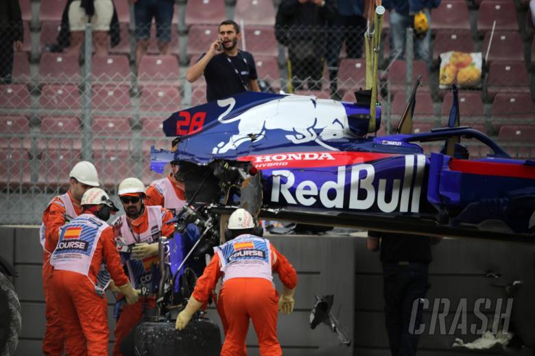 F1: Hartley refusing to lose confidence despite Spain F1 crash