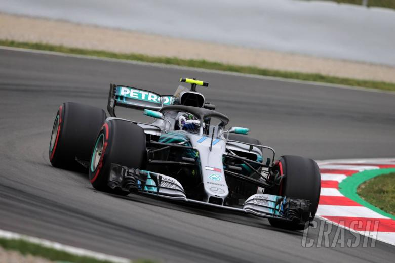 F1: Bottas ends final Barcelona in-season F1 test day on top