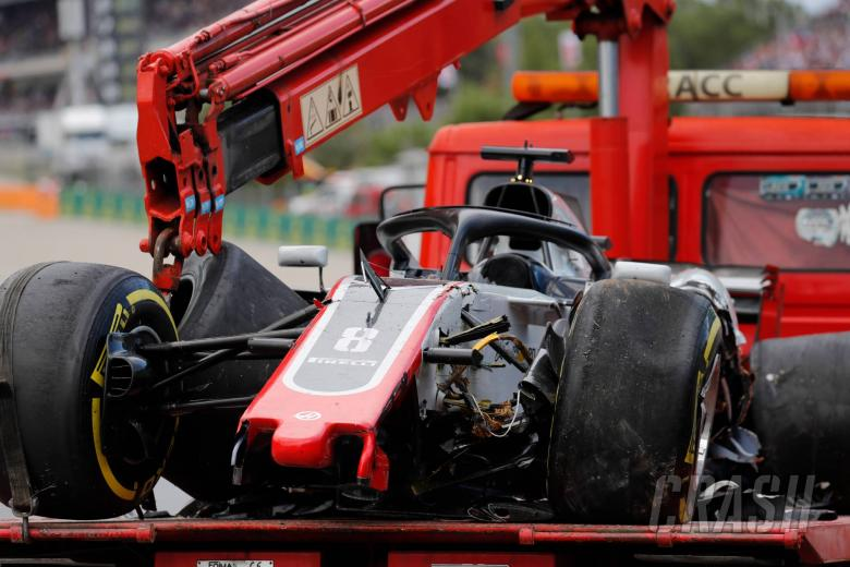 F1: Grosjean: Not much I could do to avoid Lap 1 crash