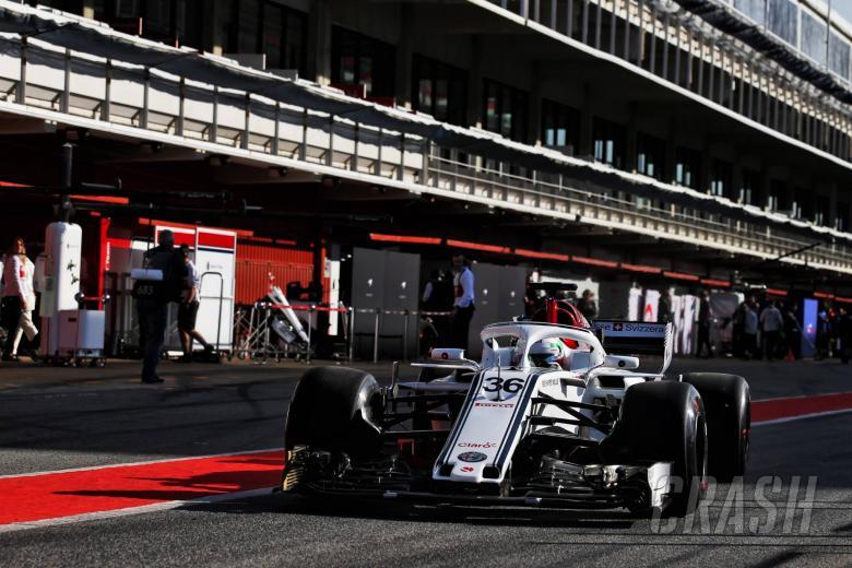 Antonio Giovinazzi (ITA) Sauber C37 Test Driver. 15.05.2018.