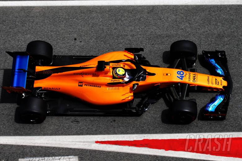 Lando Norris (GBR) McLaren MCL33 Test Driver.15.05.2018.