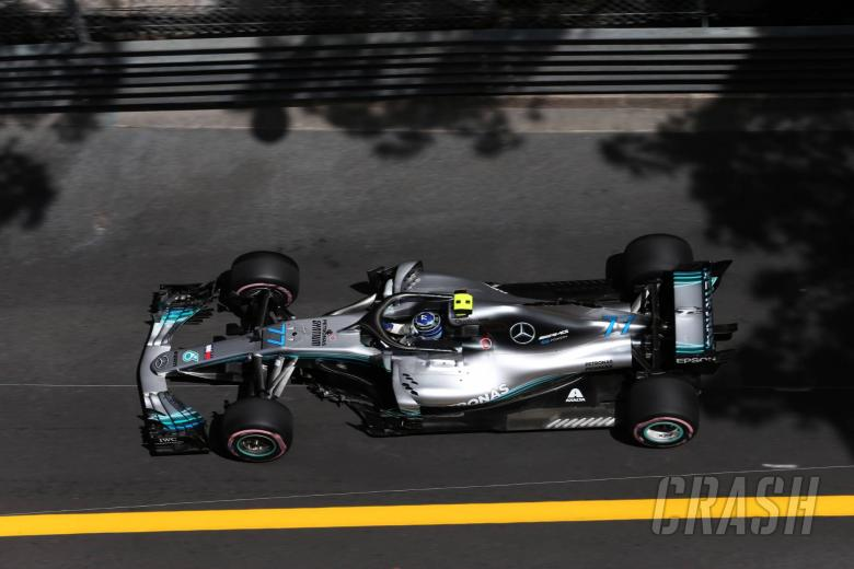 F1: Mercedes 0.1s shy of making Monaco Q2 tyre gamble work - Bottas