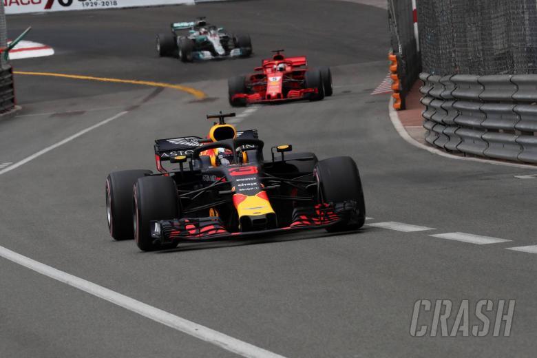 F1: Ricciardo lost 2.5s per lap with F1 engine issue in Monaco GP - Red Bull