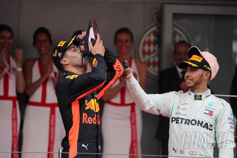 F1: Hamilton: 'Unlikely' Ricciardo will become my Mercedes F1 teammate