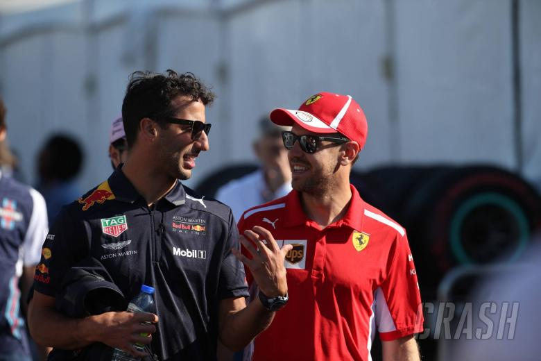 F1: Ricciardo defends Vettel over Brazil F1 weighbridge incident