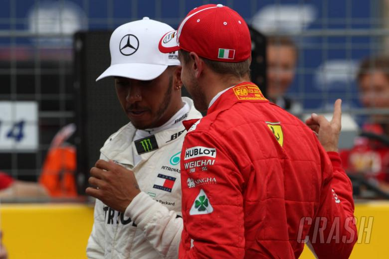 F1: Hamilton defends Vettel by calling for respect