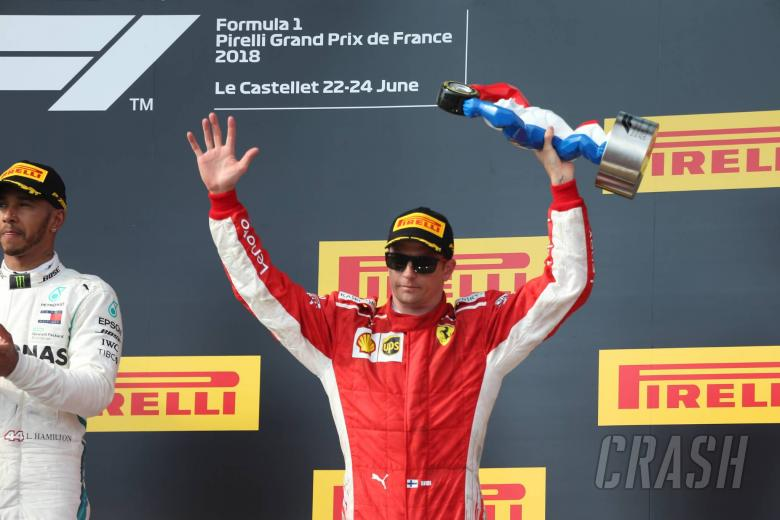 F1: Raikkonen: F1 penalties balance out in the long run