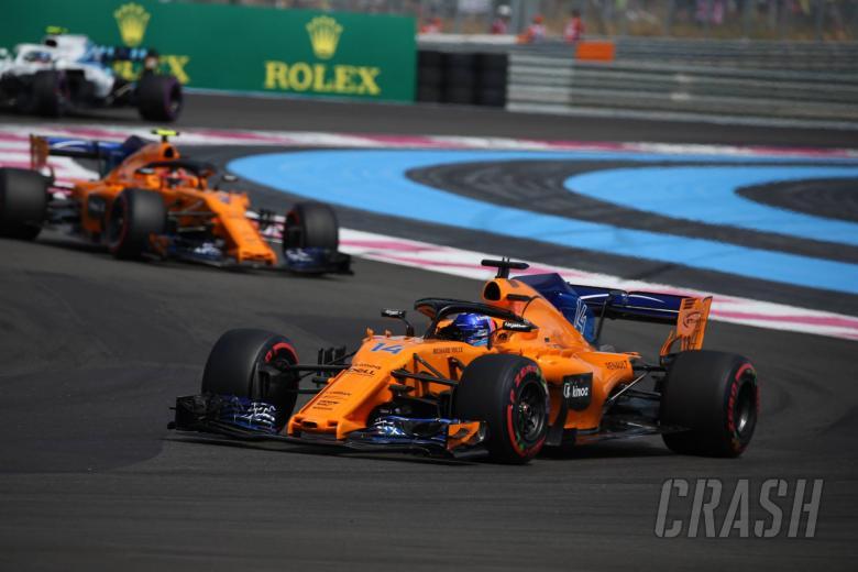 24.06.2018- Race, Fernando Alonso (ESP) McLaren Renault MCL33