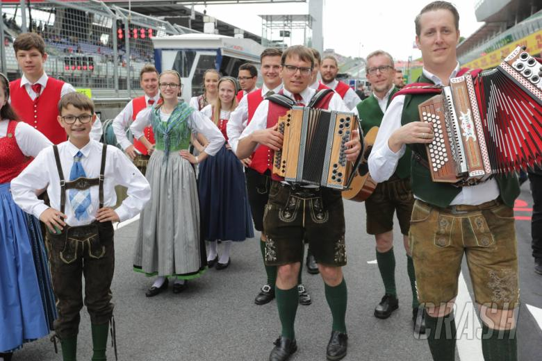 F1: F1 Austrian Grand Prix - Starting Grid