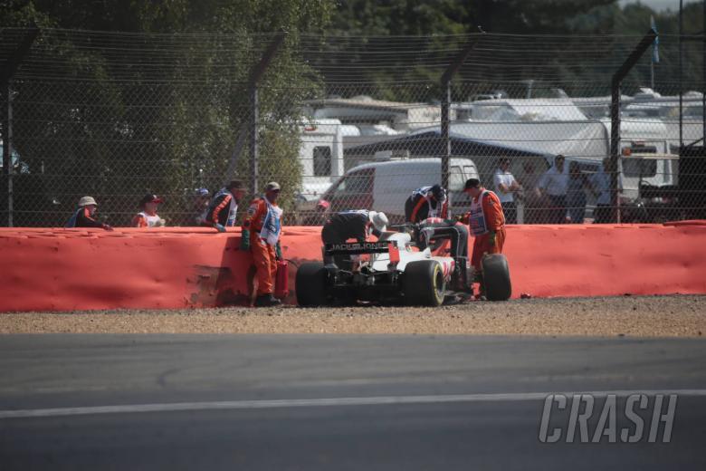 F1: Grosjean explains crash which caused FP2 miss