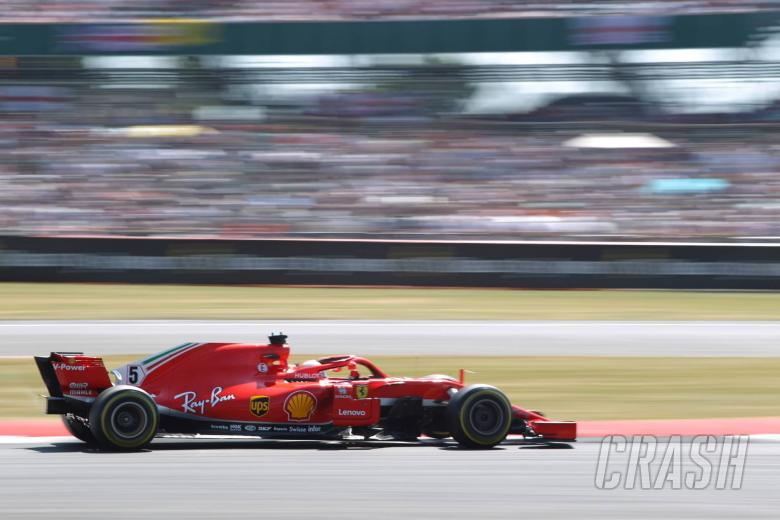 F1: Vettel: 'Silly' to suggest Ferrari/Mercedes crashes are deliberate