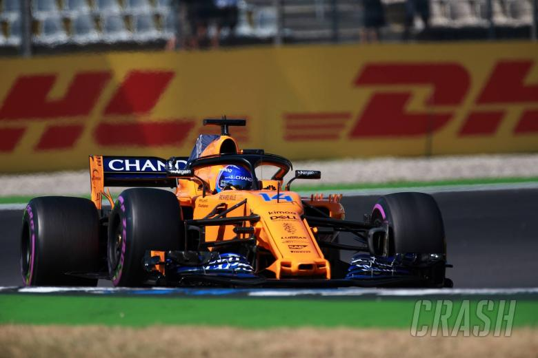 F1: Alonso: McLaren's German GP tests compromised final results