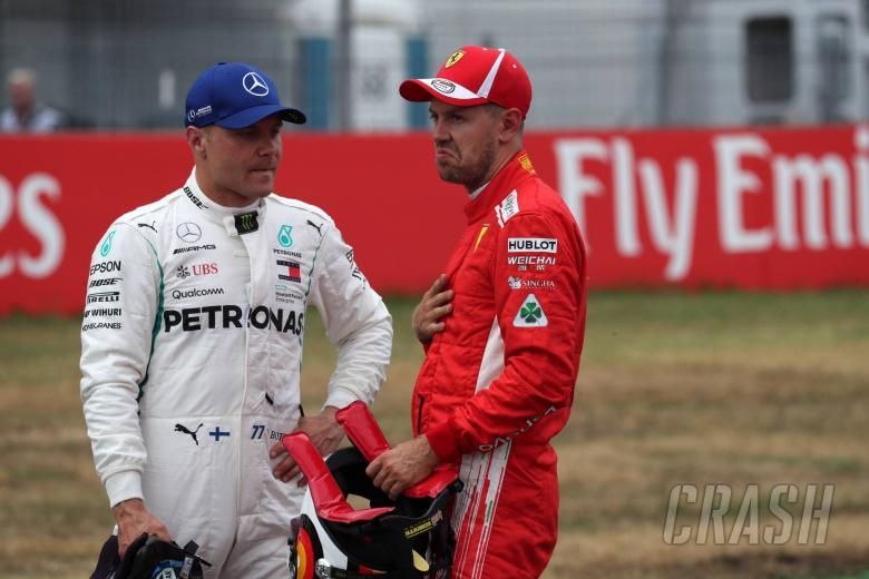 F1: Bottas admits Ferrari quicker at German GP