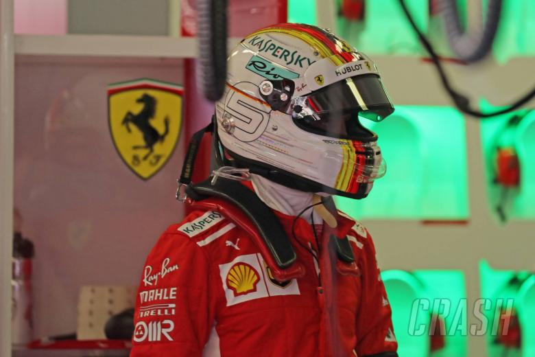 Vettel memimpin Verstappen di GP Belgia FP1