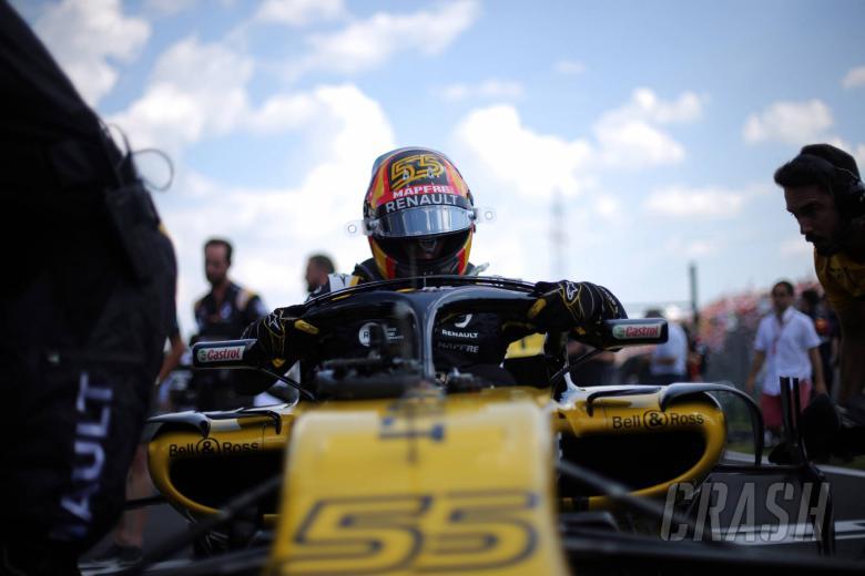 29.07.2018 - Race, Carlos Sainz Jr (ESP) Renault Sport F1 Team RS18