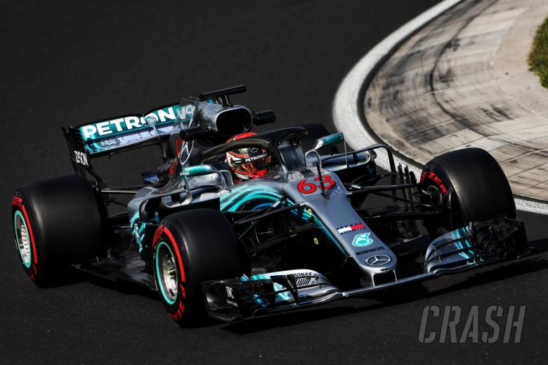 F1: Russell sets record pace as Mercedes tops Hungary test