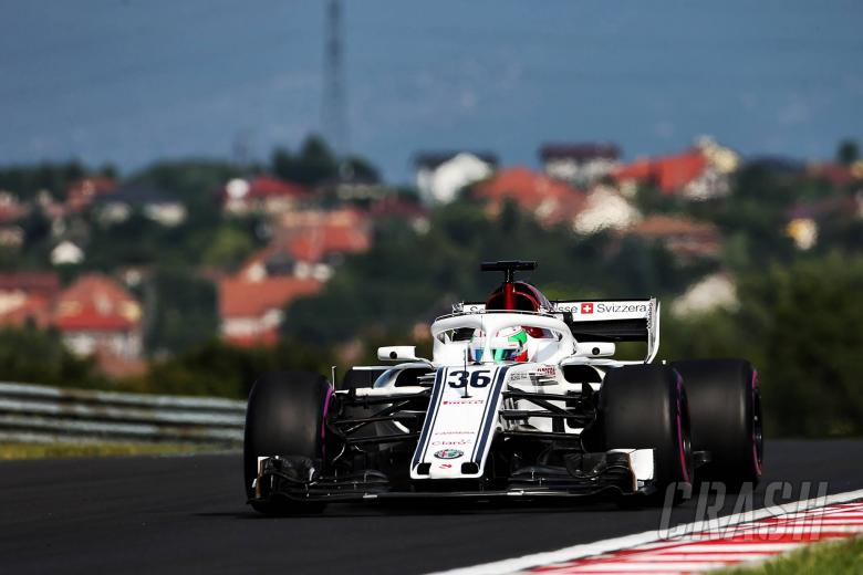 F1: Giovinazzi: Sauber has made 'big step' between F1 tests