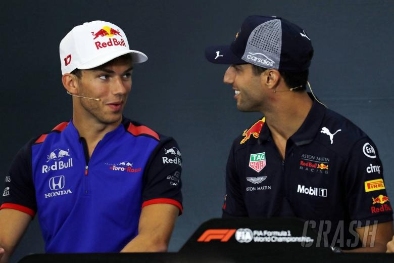 Gasly thought Marko was 'taking the piss' over Ricciardo exit