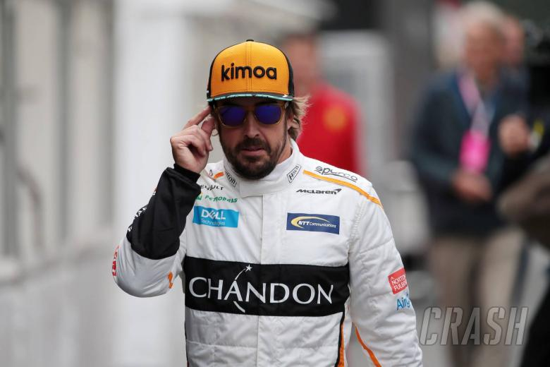 Alonso, Johnson tease possible NASCAR/F1 switch