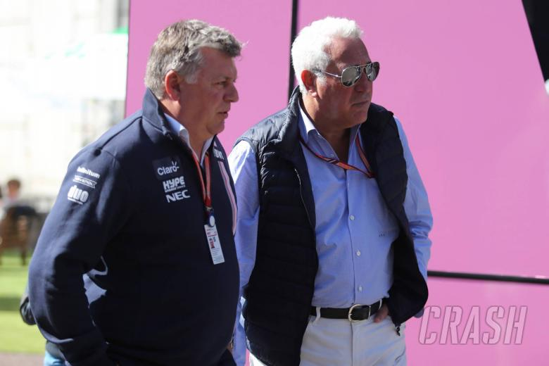26.08.2018 - Otmar Szafnauer (USA) Racing Point Force India F1 Chief Operating Officer and Lawrence Stroll (CAN) Racing Point Force India F1 Team Investor