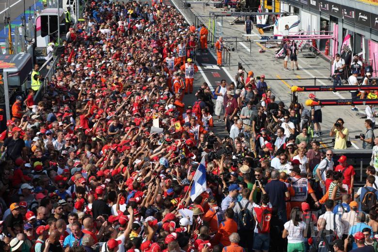F1: F1 Paddock Notebook - Italian GP Thursday