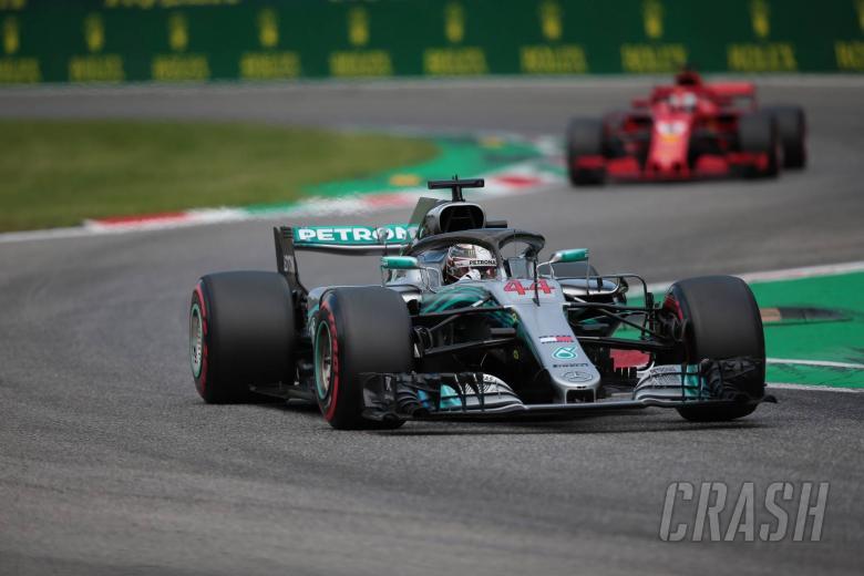 F1: Hamilton thrilled by 'intense' three-way battle for Monza pole