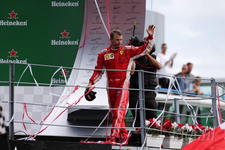 F1: Raikkonen learned Ferrari fate at Monza, not his decision