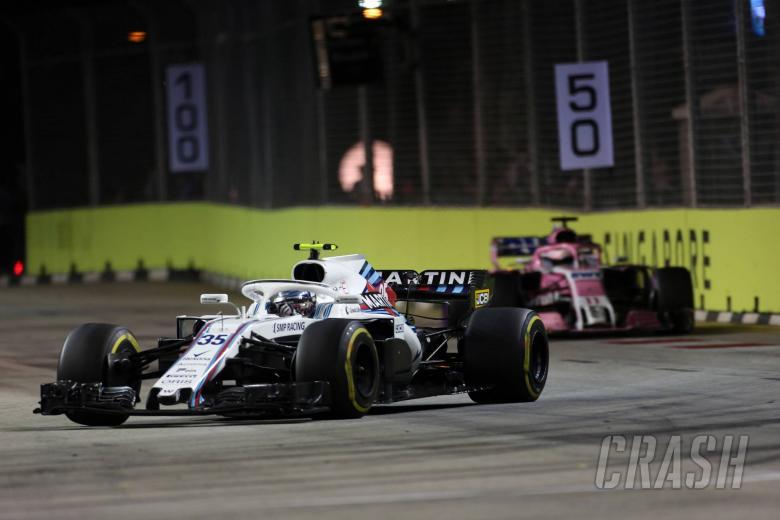 F1: Perez, Sirotkin accept Singapore penalties were fair