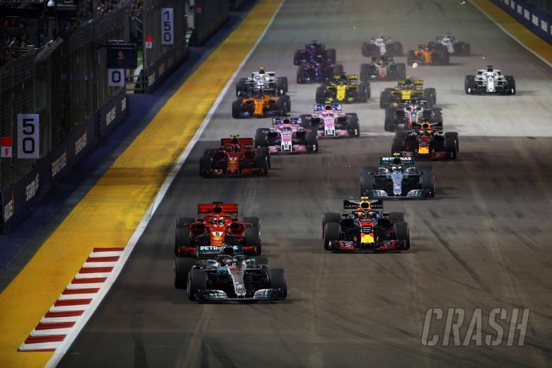 Peringkat Pembalap F1 - Grand Prix Singapura