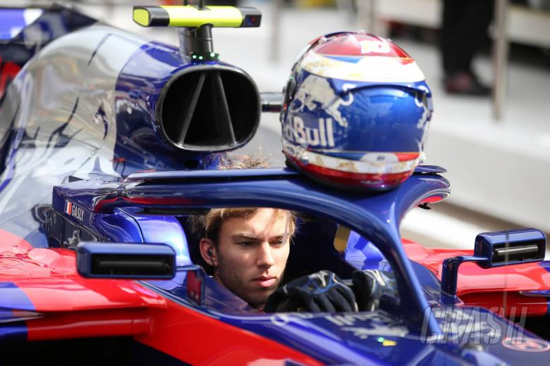 """F1: Gasly reveals """"really scary"""" moment debris hit his F1 helmet"""