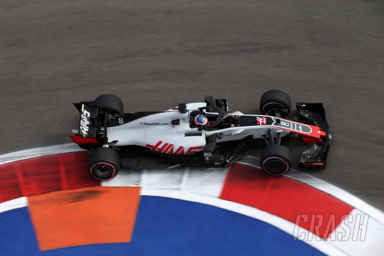 28.09.2018 - Free Practice 1, Romain Grosjean (FRA) Haas F1 Team VF-18
