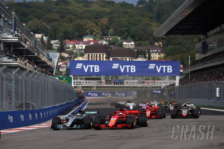 F1: F1 Russian GP - Race Results