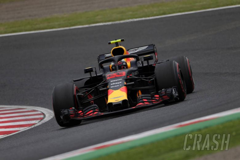 "F1: Verstappen: Red Bull can challenge Ferrari, Merc ""too far ahead"""