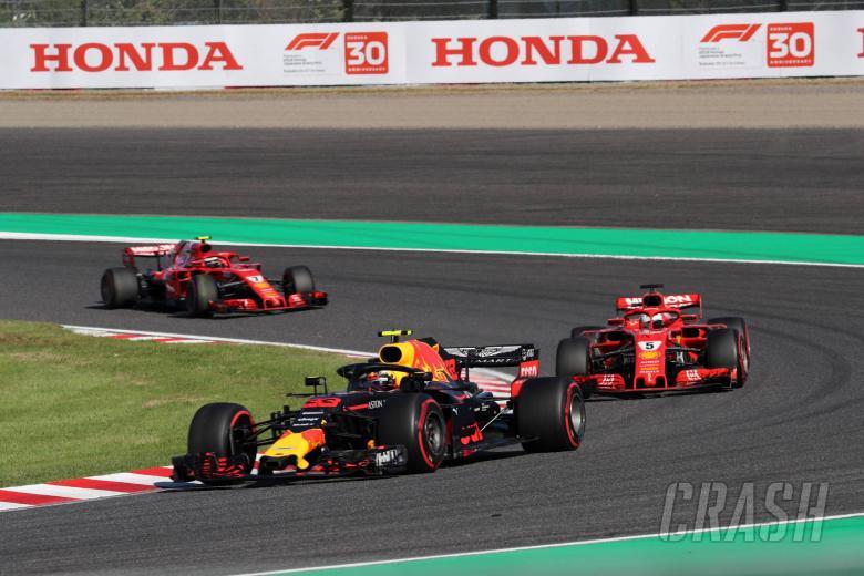 F1: Vettel: Verstappen to blame for Japan collision