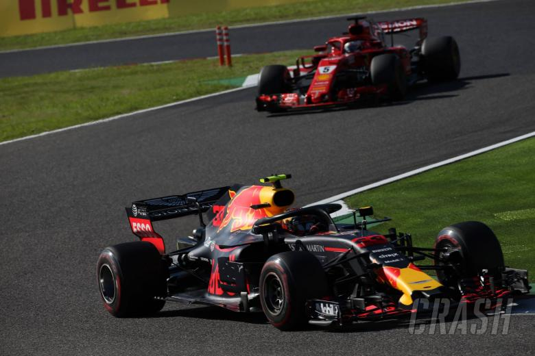 F1: Vettel drove into the side of my car – Verstappen