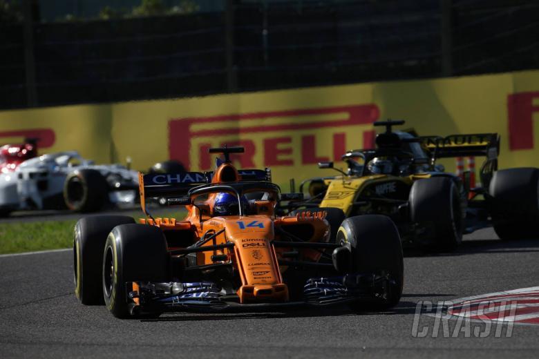 07.10.2018 - Race, Fernando Alonso (ESP) McLaren MCL33