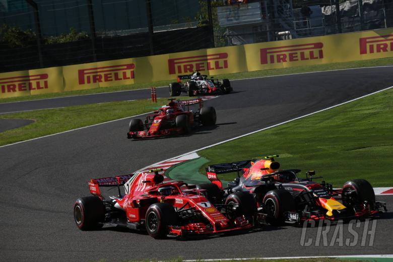 F1: Raikkonen: Japanese GP fight ended by damage in Verstappen hit